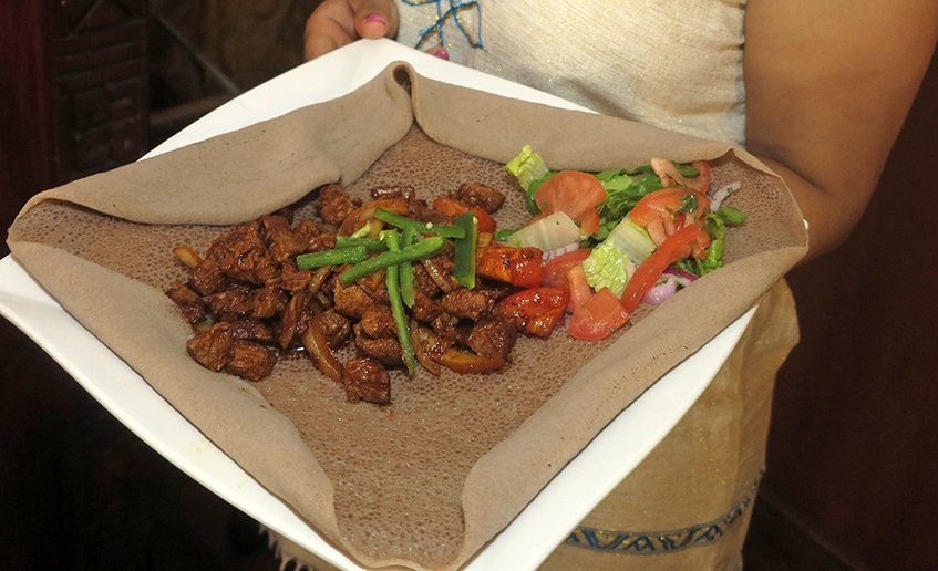 Goden Tibs - Lalibela Ethiopian Restaurant