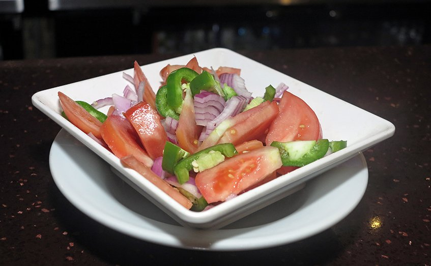 Tomato Salad - Lalibela Ethiopian Restaurant