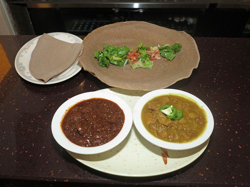 Lalibela Ethiopian - Half & Half Combination for Two