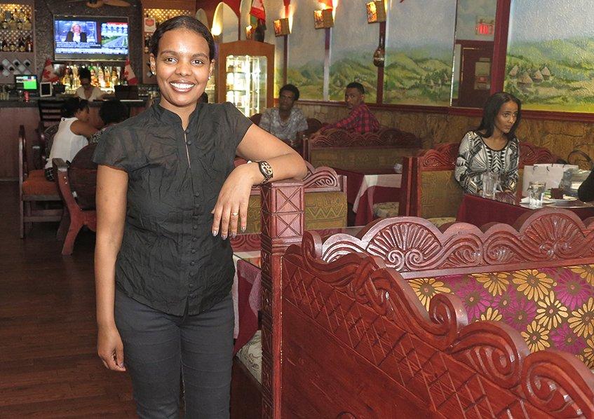 Inside View - Lalibela Ethiopian Restaurant
